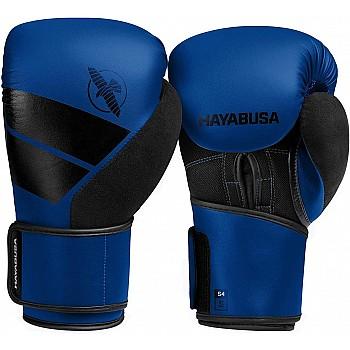 Боксерські рукавиці Hayabusa S4 - Сині 12oz (Original) - фото 2