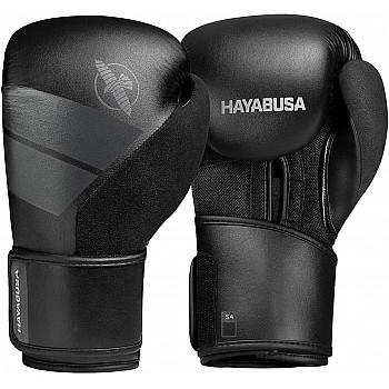 Боксерські рукавиці Hayabusa S4 - Чорн 12oz (Original) - фото 2