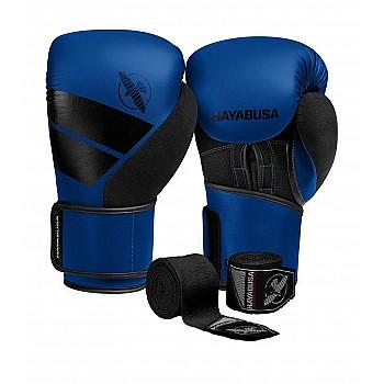 Боксерські рукавиці Hayabusa S4 - Сині 14oz (Original)