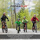 Велорукавички PowerPlay 5034 B Біло-жовті S