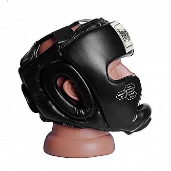 Боксерський шолом тренувальний PowerPlay 3043 Чорний M - фото 2