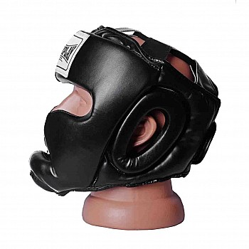 Боксерський шолом тренувальний PowerPlay 3043 Чорний S - фото 2