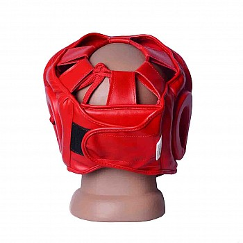 Боксерський шолом тренувальний PowerPlay 3043 Червоний M - фото 2