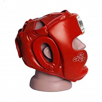 Боксерський шолом тренувальний PowerPlay 3043 Червоний S - фото 2