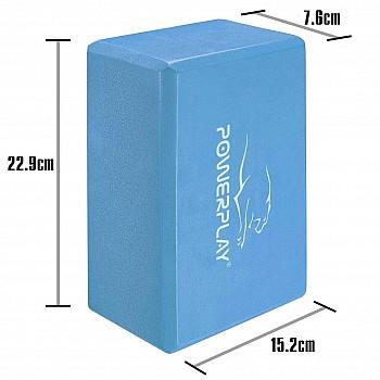 Блок для йоги PowerPlay 4006 Yoga Brick - фото 2