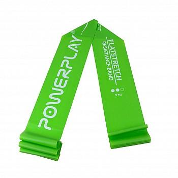 Еспандер лента PowerPlay 4112 Medium Зелена (200*15*0.5мм, 9кг)