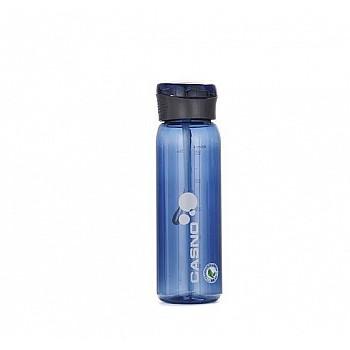 Пляшка для води CASNO 600 мл KXN-1211 Синя з соломинкою
