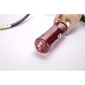 Пляшка для води CASNO 600 мл KXN-1211 Червона з соломинкою - фото 2