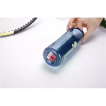 Пляшка для води CASNO 600 мл KXN-1211 Синя з соломинкою - фото 2