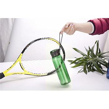 Пляшка для води CASNO 600 мл KXN-1211 Зелена з соломинкою - фото 2