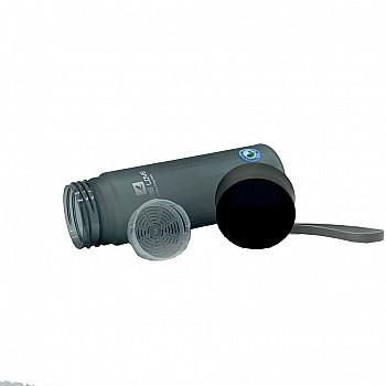 Пляшка для води CASNO 600 мл MX-5014 More Love Сіра - фото 2