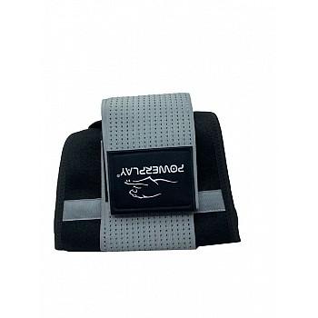 Пояс-корсет для схуднення PowerPlay 4305 Чорно-сірий 110*24 см - фото 2