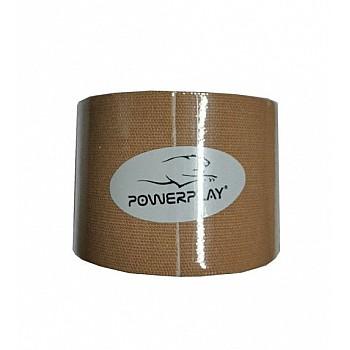 Кінезіологічний тейп PowerPlay 4315 Бежевий 5*5м - фото 2