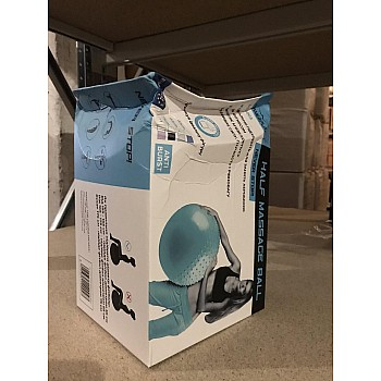 М'яч для фітнеса PowerPlay 4003 65см Синій ( пошкоджена коробка ) - фото 2
