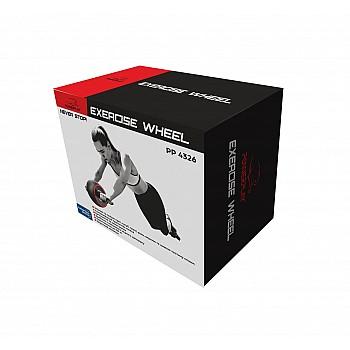 Колесо для пресу PowerPlay 4326 зі зворотним механізмом Чорно-червоне - фото 2