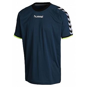 Футболка детская Hummel STAY AUTHENTIC COTTON TEE темно-бирюзовая
