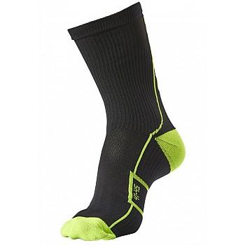 Носки функциональные Hummel TECH INDOOR SOCK LOW черно-зеленые