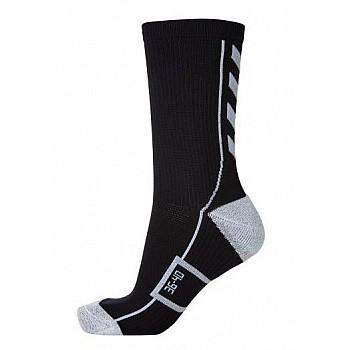 Носки функциональные Hummel TECH INDOOR SOCK LOW черно-серые