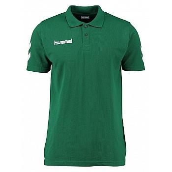 Футболка поло детская Hummel CORE COTTON POLO зеленая