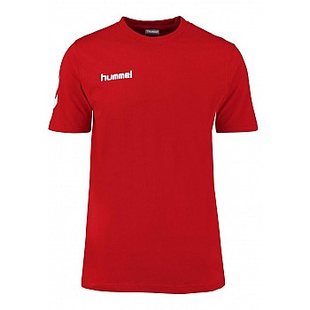 Футболка Hummel CORE COTTON TEE красная