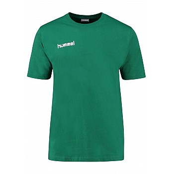 Футболка Hummel CORE COTTON TEE зеленая