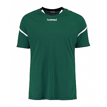 Футболка Hummel AUTH. CHARGE SS POLY JERSEY зеленая