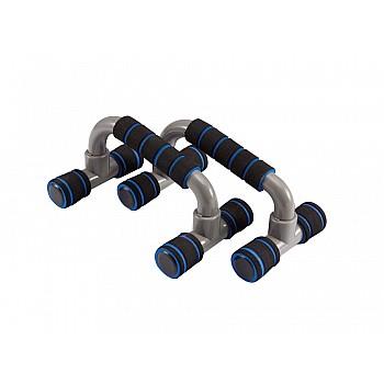 Упоры для отжимания LiveUp PLASTIC PUSH UP BAR, пластиковые, набор 2 шт., LS3164E