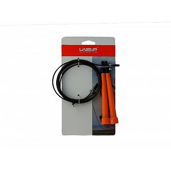 Скакалка скоростная LiveUp CABLE JUMPROPE, LS3122