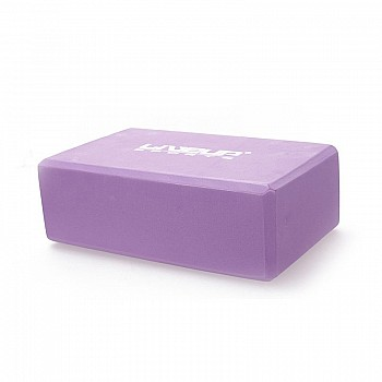 Блок для йоги LiveUp EVA BRICK, LS3233A-p