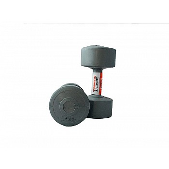 Гантели LiveUp CEMENT DUMBELL gray 2 шт.по 4кг