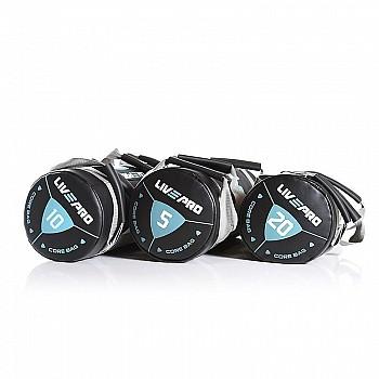 Мешок для кроссфита LivePro POWER BAG черный/серый 25 кг