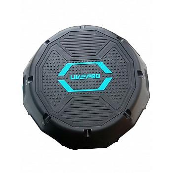 Степ платформа мини LivePro STEP черный/синий