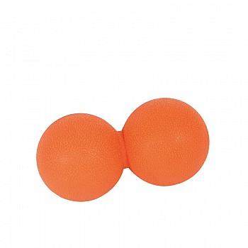 Мячик двойной для массажа  LivePro THERAPY MASSAGE PEANUT BALL оранжевый