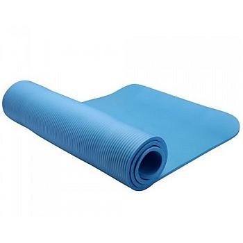 Коврик для тренировок  LiveUP  NBR MAT  голубой
