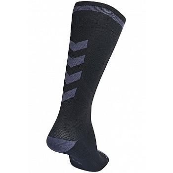 Носки Hummel ELITE INDOOR SOCK HIGH черные - фото 2