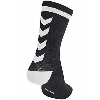 Носки Hummel ELITE INDOOR SOCK LOW черные - фото 2