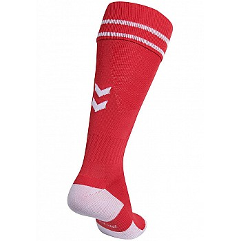 Носки Hummel ELEMENT FOOTBALL SOCK красные - фото 2