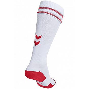 Носки Hummel ELEMENT FOOTBALL SOCK белые - фото 2