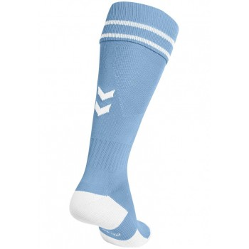 Носки Hummel ELEMENT FOOTBALL SOCK голубые - фото 2