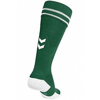 Носки Hummel ELEMENT FOOTBALL SOCK темно-бирюзовые - фото 2