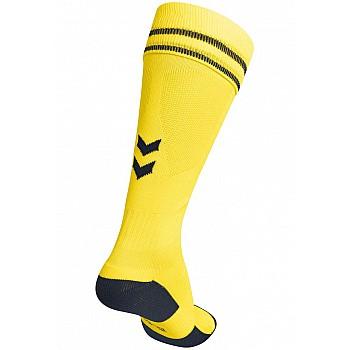 Носки Hummel ELEMENT FOOTBALL SOCK желтые - фото 2