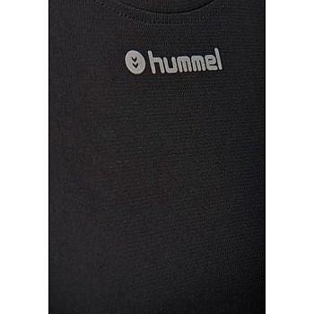 Футболка Hummel RUNNER WO SS TEE черная - фото 2