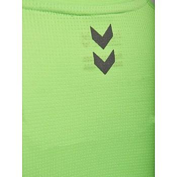 Футболка Hummel RUNNER WO SS TEE зеленая - фото 2