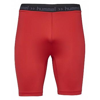 Шорты Hummel FIRST PERF SHORT TIGHTS красные - фото 2