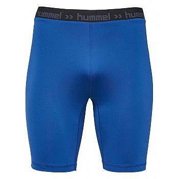 Шорты Hummel FIRST PERF SHORT TIGHTS синие - фото 2