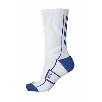 Носки функциональные Hummel TECH INDOOR SOCK LOW бело-синие - фото 2