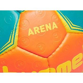 Гандбольный мяч ARENA HANDBALL красно-зеленый, 2 размер