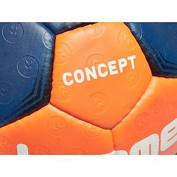 Гандбольный мяч CONCEPT HANDBALL сине-оранжевый размер 3 - фото 2