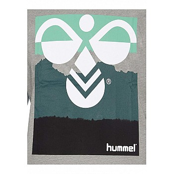 Футболка Hummel HMLVERNER T / SHIRT S / S серая