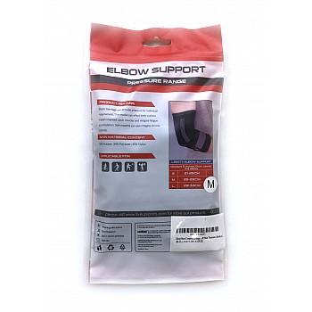 Фиксатор локтя LiveUp ELBOW SUPPORT черно-серый - фото 2